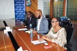 IFRC Africa team left - right Director Africa Region Dr Fatoumata Nafo - Traore, Communications Mana